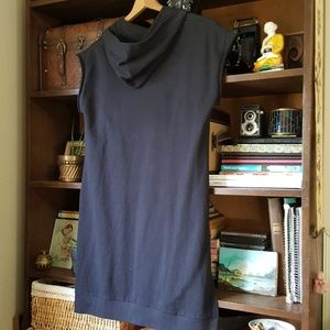 MM6 Maison Martin Margiela Tops - Mm6 hooded side tie sweatshirt top dress tunic